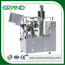 Hand sanitizer gel/jam/toothpaste/cream tube filling and sealing machine