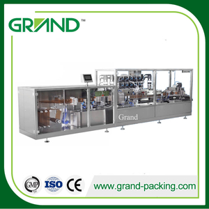 Large Full Automatic Honey/Oral Liquid/Perfume/Electrical Liquid/Cream Plastic Ampoule Filling Sealing Machine