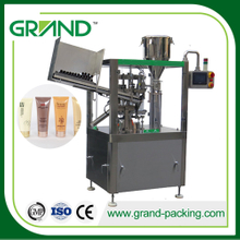 Hand sanitizer/cream/jam tube filling and sealing machine