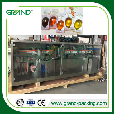 Vinegar/Honey/Olive Oil Plastic Bottle Forming Filling Sealing Machine