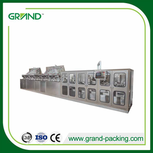 Full automatic wet wipes folding and packaging machine