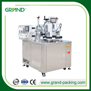 Mono dose strip tube filling and sealing machine
