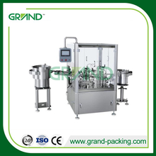 Tube test kit filling and capping machine for corona virus