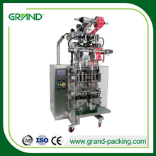 Automatic two lanes gel sachet packing machine